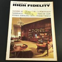 VTG High Fidelity Music Magazine April 1967 - Danish Stereo Decor A Portfolio
