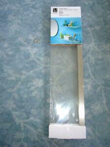 UMBRA SHEER SHELF 25 IN x 5 5/8 IN / 61 cm x 14 cm