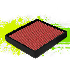 FOR 06-18 TOYOTA CAMRY/COROLLA LEXUS SCION WASHABLE PANEL CABIN AIR FILTER RED