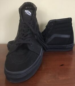 VANS Black Size 12 Mens Hightops