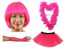 LADIES FANCY DRESS  - TUTU BOA PINK PRETTY PARTY HEN DO GIRLS RACE NIGHT RRP £40