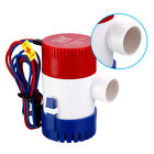 1100GPH 12V Electric Marine Submersible Bilge Sump Water Pump Fit Boat Yacht # photo