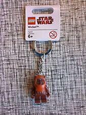 Lego Star Wars Wicket The Ewok Figure Keychain New With Tags 852838 Key Chain
