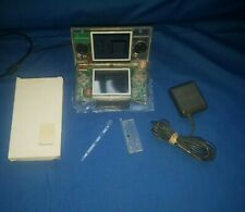 Nintendo DS Lite Console New CLEAR Shell W/ Charger Mint Condition