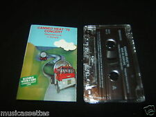 CANNED HEAT '70 LIVE IN EUROPE CASSETTE TAPE
