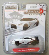 2009 Nissan GT-R (R35) White JDM TUNERS JADA TOYS DIE-CAST 1:64