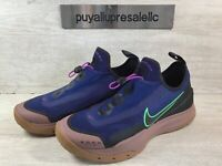 Men's Nike ACG Zoom Air AO Hiking Shoes CT2898-401 Blue Void/Black Size 8.5