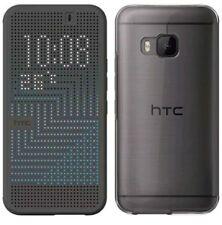 Authentique HTC Glace Premium Vue Point Étui COQUE Housse à Clapet pour One M9 -