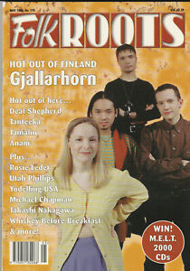 FOLK ROOTS Magazine May 1998 - Gjallahorn (Issue 179)