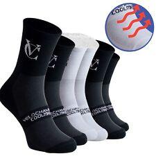 Coolmax Breathable Cycling Socks 3pack Mountain Bike Road Running Socks