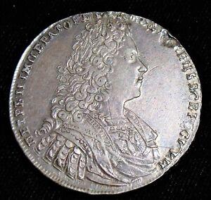 Russia: Peter II Rouble 1728. Choice AU