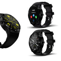 1.3-in (Android & iOS) 44mm SmartWatch by Indigi® - Bluetooth Compatible + GPS