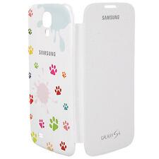 COVER CUSTODIA ORIGINALE Samsung Flip EF-FI950B per GALAXY S4 GT i9500 ZAMPETTE