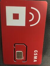 Red Pockett Mobile 3 In 1 Sim At&T 4G Lte