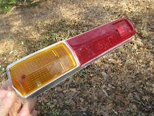 SIMCA 1100 CIBIE 8076 TAIL LIGHT LENS  AU40H AU40D 33 CIBIE  SAE A68