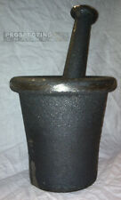 MORTAR PESTLE pestal CRUSH ROCK crusher LARGE SIZE made of iron