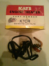 Kats Engine Heater Great For Winter K7CR 600  Watts 120 Volts