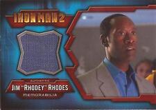 "Iron Man 2 - IMC-7 Don Cheadle ""Jim 'Rhodey' Rhodes"" Costume Card"