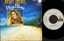 "AUDREY LANDERS playa blanca/happy endings 106 253 spanish ariola 7"" PS EX/EX sos"