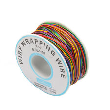 PCB Test Core Line 30AWG Wire Single Tinned Copper Wire 8-color Board Cable Roll