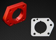 Torque Solution Throttle Body Spacer Red for Honda Civic LXEXDX R18 2006-2011