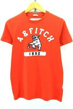Abercrombie & Fitch Men's Crew Neck T-shirt Size S Muscle Cotton Tee EF1871