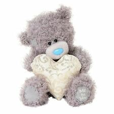 "Me to You 7"" Patterned Heart Gift Plush Bear - Tatty Teddy Bears"