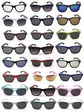 Y1152 Wayfare Aviator UV400 Protection Sunglasses Stylish 80's Retro Geek Design