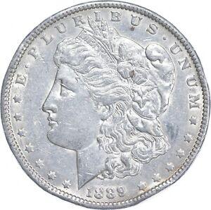 Early - 1889 Morgan Silver Dollar - 90% US Coin *244