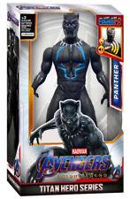 Talking Black Panther Marvel Avengers Titan Hero Series Power FX Action Figure