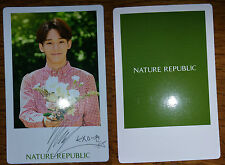 EXO Chen Nature Republic Photocard