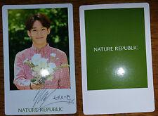 EXO Chen Nature Republic Photocard