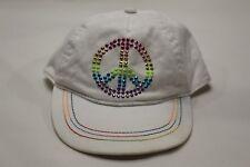PEACE SYMBOL - CHILDREN'S PLACE - KIDS SIZE - ADJUSTABLE BALL CAP HAT