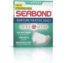 Seabond Gum Denture Fixative Seals - 15 Original Uppers