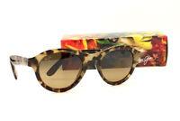Maui Jim LEIA HS708-10L Tokyo Tortoise Sunglasses Polarized HCL Bronze Lenses