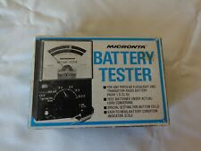 Vintage Micronta Battery Tester, Original Sales Box