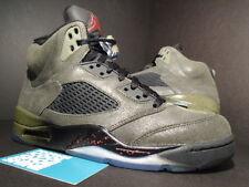 Nike Air Jordan V 5 Retro FEAR PACK SEQUOIA OLIVE GREEN BLACK RED 626971-350 7