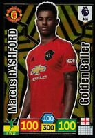 PANINI ADRENALYN XL 2019/20 MARCUS RASHFORD GOLDEN BALLER NO 466