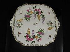 Lovely Aynsley Mikado bone china Tab Handled Cake Plate c. 1925 Art Deco