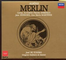 Albeniz Merlin / Alvarez - Domingo - De Eusebio -2 CD Box Set & Booklet - MINT