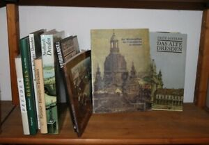 9 Bände DRESDEN Geschichte Malerei Architektur Frauenkirche Flut in Sachsen B9