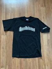 VTG Grand Theft Auto San Andreas Rockstar Games Black Graphic T Shirt Size Large
