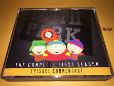 SOUTH PARK season 1 EPISODES COMMENTARY 5 disc CD set TREY PARKER matt STONE