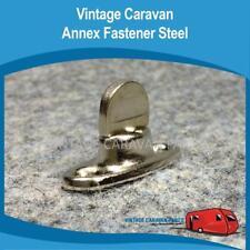 Caravan (4) Annex Steel Fastener Turn Clips Vintage Viscount Millard A0120