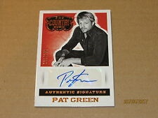 2015 Country Music Signatures #30 Pat Green SN 161/279