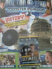 Dr who monster invasion ultimate magazine and cards brand new part 35
