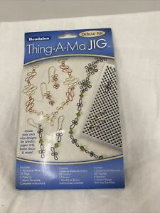 Beadalon Deluxe Thing-A-Ma-Jig Wire Jig