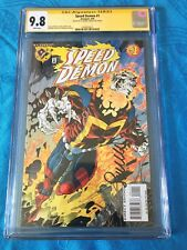 Speed Demon #1 - Amalgam - CGC SS 9.8 NM/MT - Signed by Sal Larroca