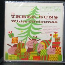 """The Three Suns - White Christmas EP 7"""" VG RCA EPA 655 USA 1955"""