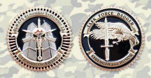 COMMEMORATIVE CHALLENGE COIN - TASK FORCE DAGGER